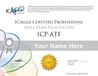 ICP-ATF Certificate